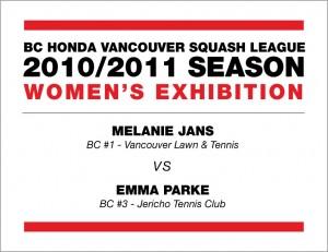 Melanie Jans vs Emma Parke