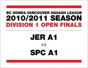 Div 1 Open Finals: JER A1 vs SPC A1