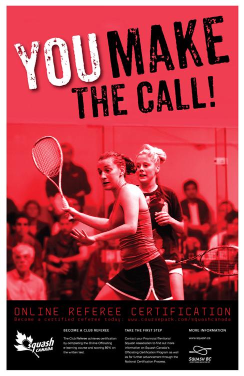 Squash Canada Poster