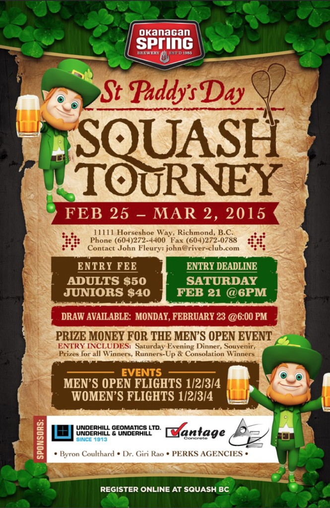 2015 River Club St Paddys