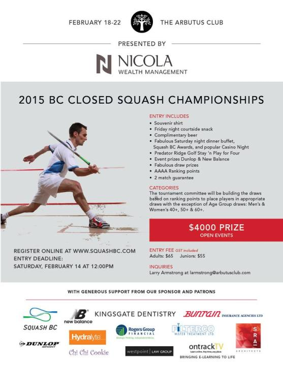 2015 BC Closed at Arbutus Club