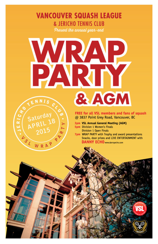 2015 VSL Wrap Party & AGM