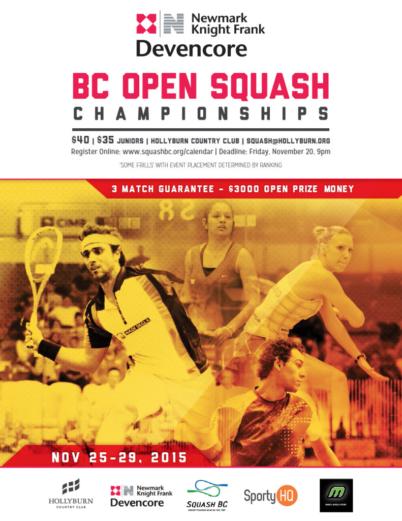 2015 BC Open at Hollyburn Country Club