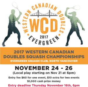 Western Canadian Doubles Squash Championships